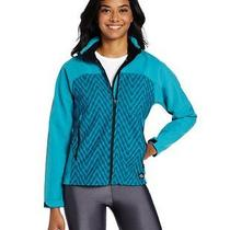 Dickies Womens Dps Patterned Softshell  Tahiti Blue Print  Large Photo