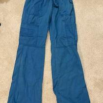 Dickies Womens Pants Scrubs Cargo - Size S Small - Teal Green Photo