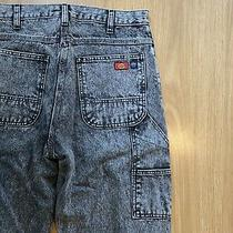 Dickies X Opening Ceremony Carpenter Acid Wash Jeans 29x32 Photo