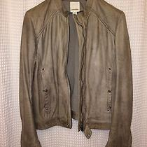 Diesel 100% Lambs Leather Jacket  Photo