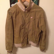 Diesel 55dsl Vintage Mens Corduroy Bomber Jacket Size S Photo