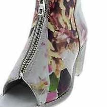 Diesel 9224 Chelsea Cox Leather Ankle Boots New  Size 7 Photo