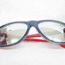 Diesel Accessory Sunglasses Oval Silver Mirror Dl0112 92c Blue Red White Aa Mens Photo