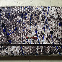 Diesel Amazonite Pock Reptile Print Long Wallet Ss 2015 Photo