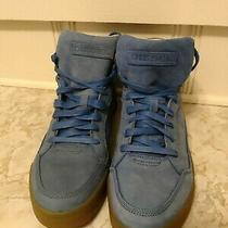 Diesel Basket Diamond Blue Sneakers Size 12 Mens Photo