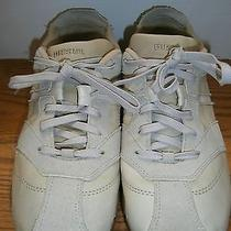 Diesel Beige Athletic Womens Sneakers Sz 9. Ugc Photo
