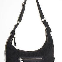 Diesel Black Cotton Shoulder Bag Photo