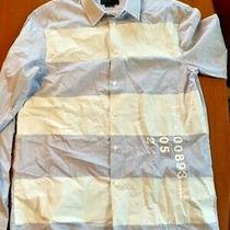 Diesel Black Gold Dress Shirt - Made in Turkey Nwot Size 50 Photo