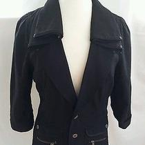 Diesel Black Jacket Size Large Photo