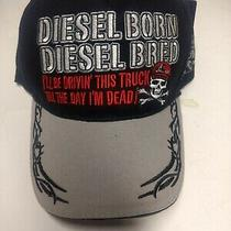 Diesel Born Diesel Bred i'll Be Driving This Truck Till the Day i'm Dead Hat Photo