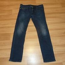 Diesel Buster Slim Stretch Tapered Jeans 34 32 W34 L32 Blue Photo