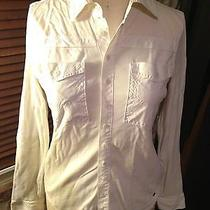 Diesel Button-Down Blouse -- Off White Photo