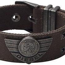 Diesel Canvas Military Bracelet Cuff Dx0565 95 Bnwt in Gift Box 100% Authentic Photo