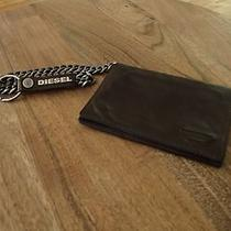 Diesel Chain Wallet - Brown  Photo