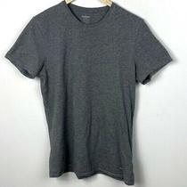 Diesel Crew Neck Cotton Short Sleeve T-Shirt Grey Mens Size Medium Crew Neck Tee Photo