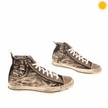 Diesel Exposure I Denim Sneakers Size 42.5 Uk 8.5 Us 9.5 Dirty Look Coin Pocket Photo