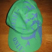 Diesel Fiabel Indian Hat Baseball Cap 03 L Youth Kids Only the Brave Green Blue Photo