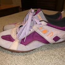 Diesel Fuchsia Lavendar Pink Akita Womens Sneakers Shoes Size 10 Photo