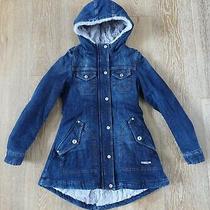 Diesel Girls Jirka Denim Jacket Coat Size M Nwt Photo