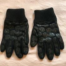 Diesel Gloves Men Size 11 Cotton Acrylic Printed Logo Photo