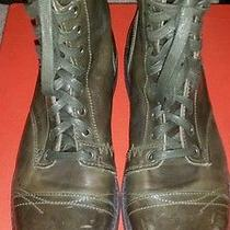 Diesel Green Ankle Boots Photo