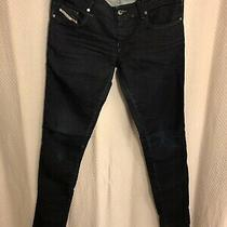 Diesel Grupee Super Slip Skinny Jeans/ Sweat Pants Size 31 Photo