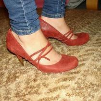 Diesel Heels Red Wood Heel Photo