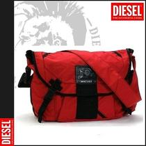 Diesel Icons of Rock Thunder Red Messenger Bag Photo