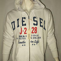Diesel Industry Men's Fleece Hoodie Size Xl Check My Other Items  Nwt Photo