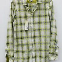 Diesel Industry Nwt Men's Sashton Shirt Light Green Size M Msrp 148 Photo