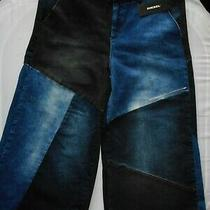 Diesel  Industry  Women's  Trousers 3/4 Size - 16  New With  Tags Photo