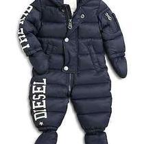 Diesel Infant's Logo Snowsuit Photo