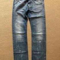 Diesel Jeans Viker Col. 0071j W30 L34 Rrp 150.00 Photo