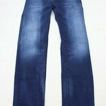 Diesel Juniors Jeans Size 12 Youth Waykee-J Straight Blue Denim 29.5 Inseam Photo