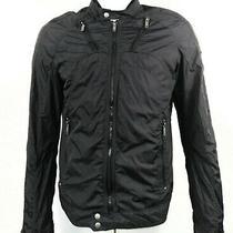 Diesel Jurlo Men's Motorcycle Style Windbreaker Nylon Moto Jacket Mens Sz L Photo