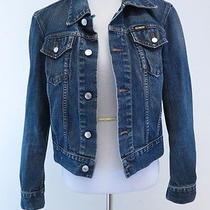 Diesel Kim Bis Denim Jacket Size Small Gently Worn Photo