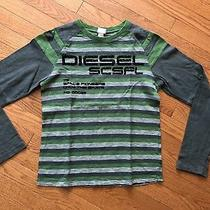 Diesel L/s Shirt Boys Size L (Fits 14/16) Photo