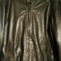 Diesel Lagnum Leather Motorcycle Jacket Black  Photo