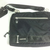Diesel Laptop Computer Messanger Bag  Black Photo