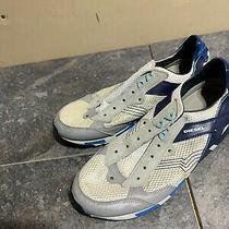Diesel Lawndale Beige Leather Sneakers Sports Comfort Shoes 11 N21 Photo
