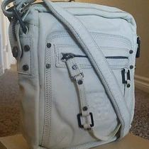 Diesel Leather Bag Crossbody Off White 848 Photo