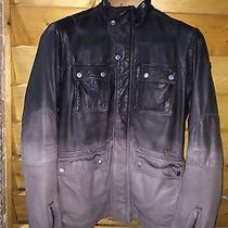 Diesel Leather Jacket Men Photo