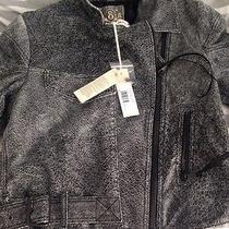 Diesel Leather Jacket Sz S Photo