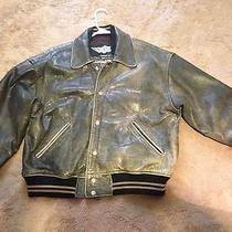 Diesel Leather Motorcycle Jacket  Photo