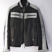 Diesel Leather Motorcycle Jacket Photo