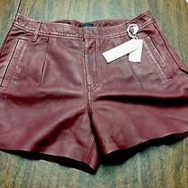 Diesel Leather Trendy Shorts Photo