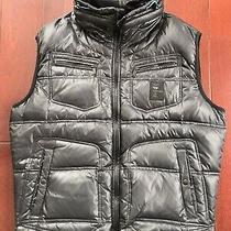 Diesel Matte Black Puffer Vest Jacket. Sz Xxl Slim Fit True Sz L-Xl Photo