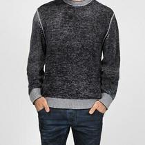 Diesel Men K-Conf 00sihd Fine Knitting Sweater Grey Size L Photo