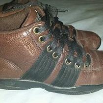Diesel Men's Athletic Shock Absorbtion Sneakers Shoes Sz 8 Rare & Unique Lk Photo