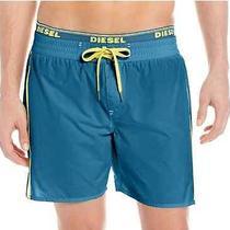 Diesel Men's Dolphin Solid Swim Short Msrp 60.00 Size 32
